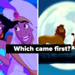I Bet You Can't Click On These Disney Movies In Order Of Their Release Date