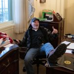 The Guy Photographed In Nancy Pelosi's Office Is Among Those Who've Now Been Charged