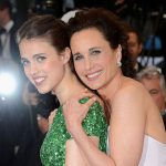 "Andie MacDowell Decided To Embrace Her ""Salt-And-Pepper"" Quarantine Hair Thanks To Rainey And Margaret Qualley"