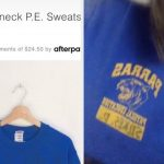 A Girl On TikTok Discovered Urban Outfitters Selling Her P.E. Sweatshirt For $98, And I'm Sorry But It's So Funny